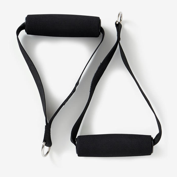 ToneTube Resistance Band with Grips - High 15 lbs/7.5 kg