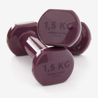 Haltères tonification 2*1,5kg