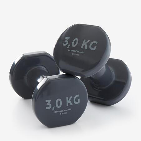 Haltères tonification 2*3kg