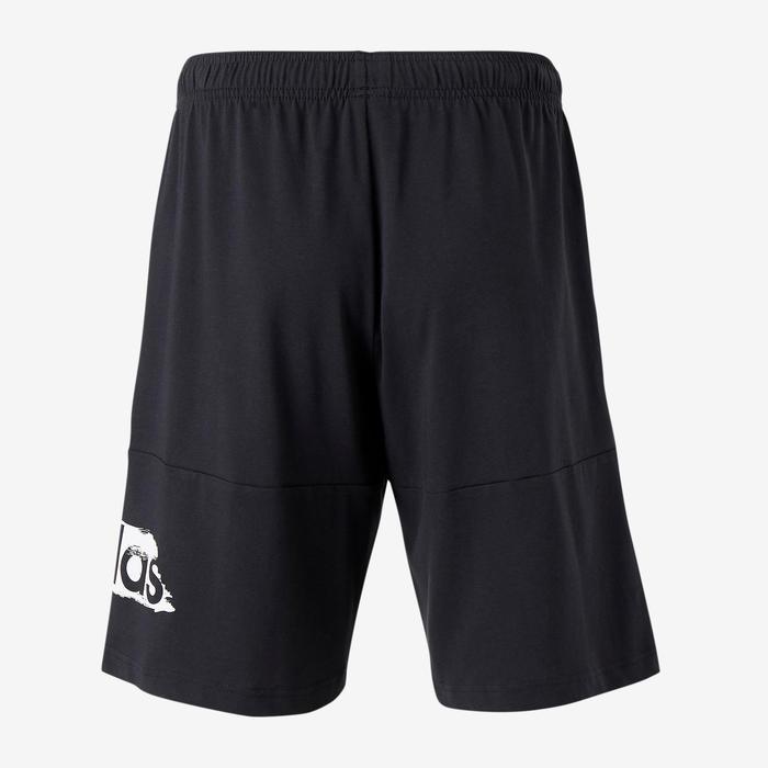 Short de sport Adidas Decadio noir homme