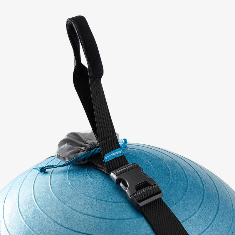 VYBAVENÍ NA PROTAHOVÁNÍ Fitness - POPRUH NA GYMNASTICKÝ MÍČ DOMYOS - Příslušenství na cvičení a pilates