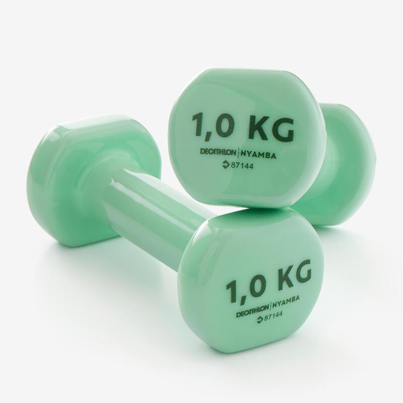 Haltères tonification 2*1kg