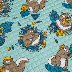 Rug XL 190x190 Squirrel