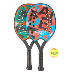 Set beachtennisrackets BTR 160