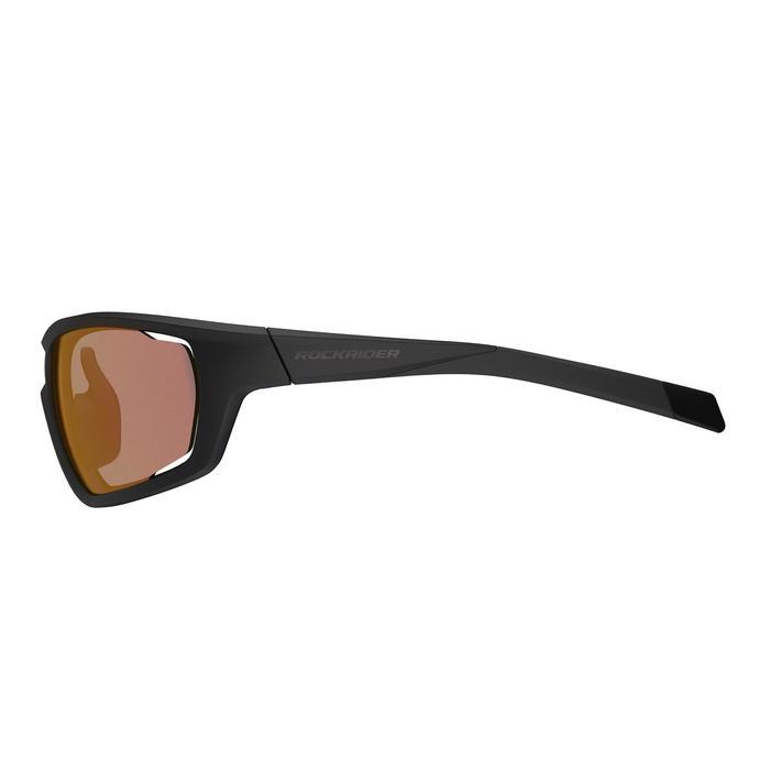 MTB Sportbrille XC Photo photochrom Kat. 1-3 schwarz