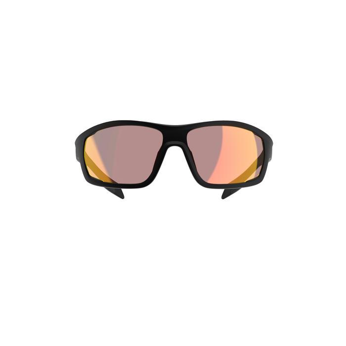 MTB bril XC PHOTO zwart meekleurende glazen categorie 1>3