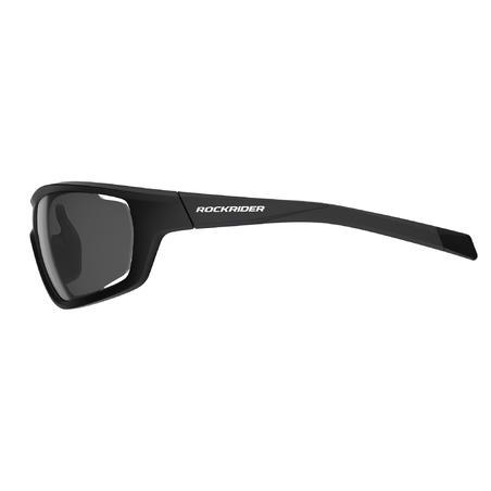 Cat 0 + 3 Interchangeable Cross-Country Mountain Bike Glasses Pack - Black