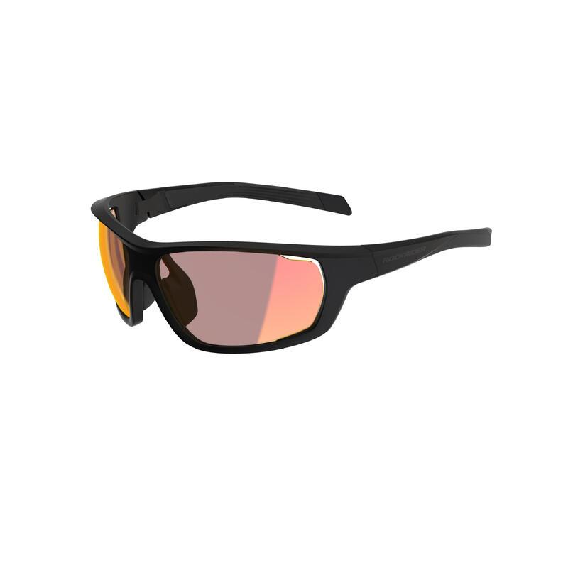 Brýle na MTB XC RACE černé s fotochromatickými skly KAT 1>3
