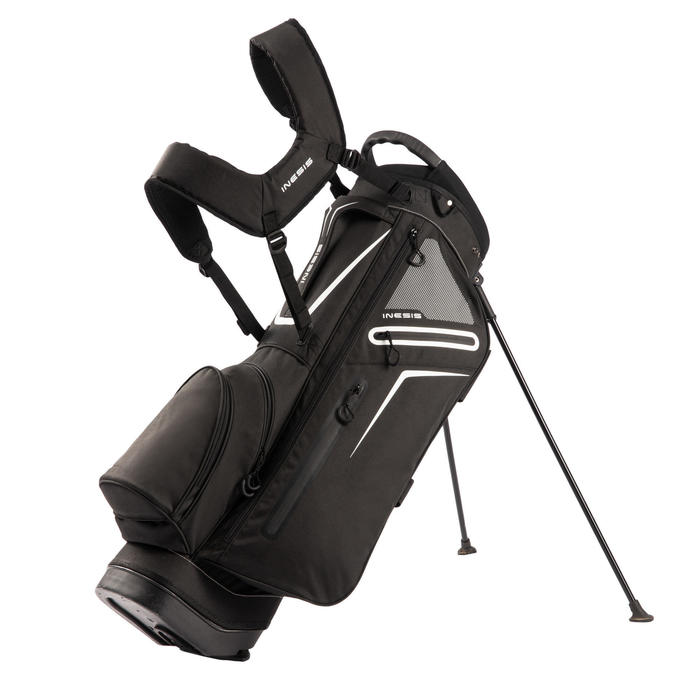 Standbag voor golf Light zwart