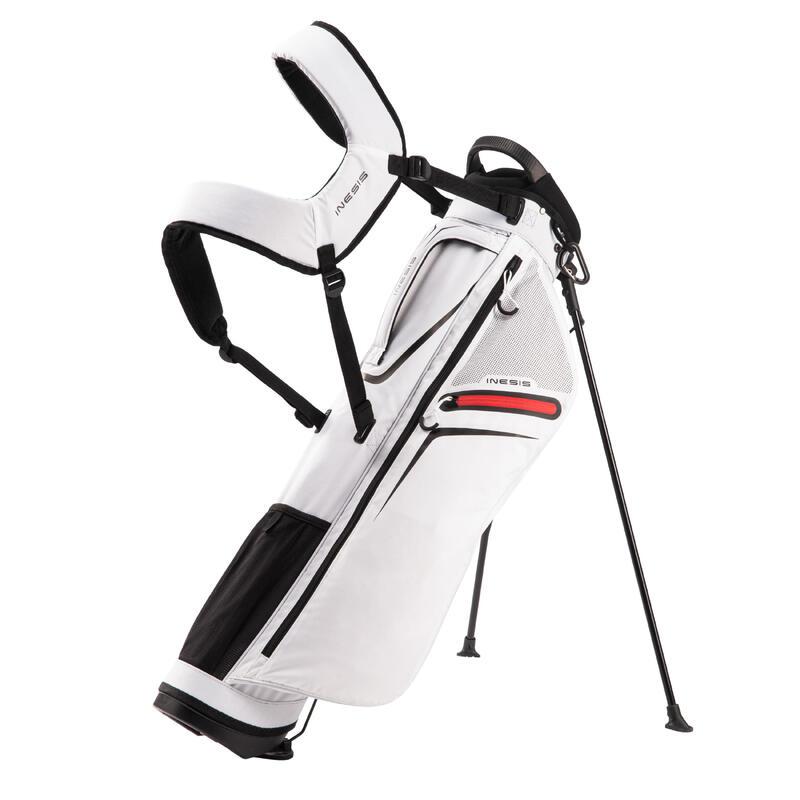 Standbag voor golf Ultralight wit