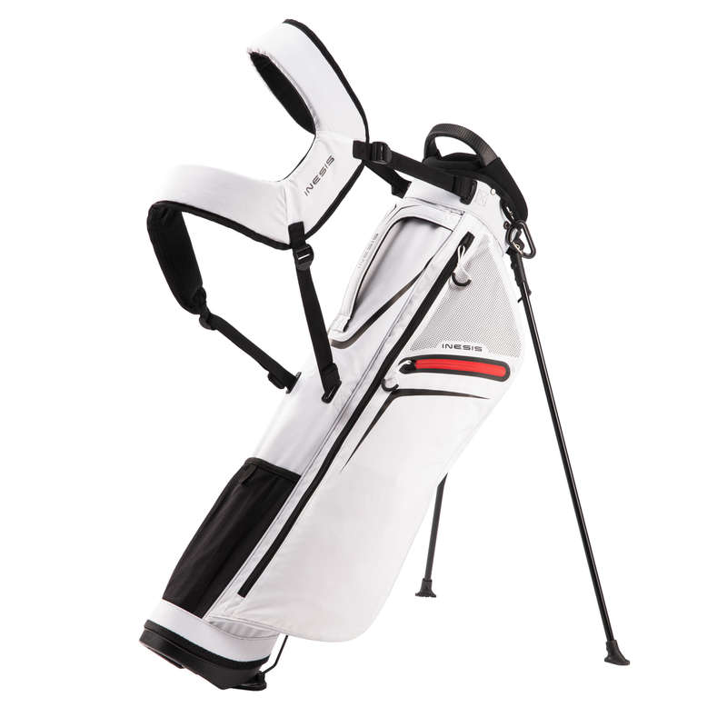 GOLFVÄSKOR NYBÖRJARE Golf - Bärbag GBA ULS A vit INESIS - Golf