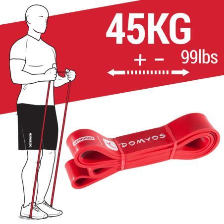Elastinė pasipriešinimo juosta, 45 kg