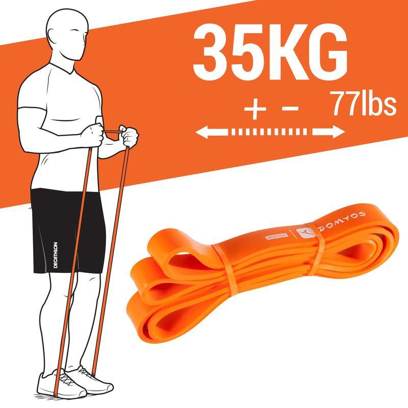 Banda Elástica Cross-Training Musculación - Training Band 35 Kg