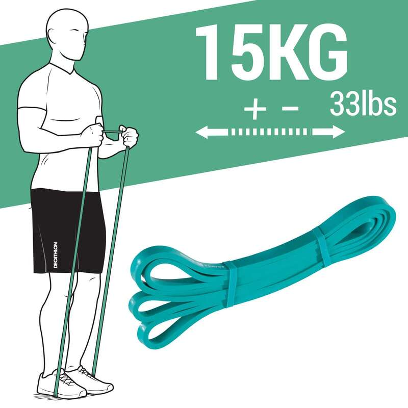 Crosstraining Material Fitness - Trainingsband 15kg DOMYOS - Krafttraining und Crosstraining