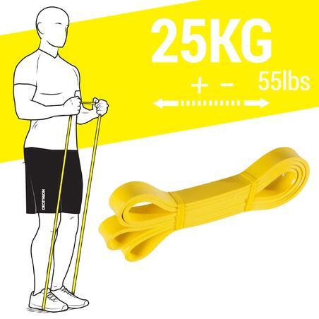 ÉLASTIQUE Crossfit - Élastique d'entraînement 25 kg