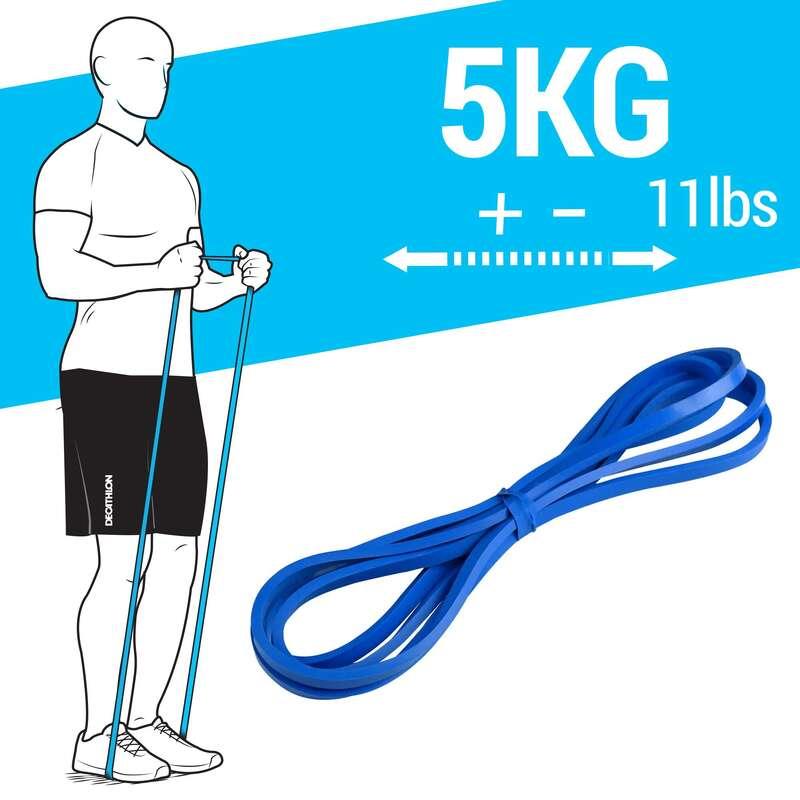 Crosstraining Material Fitness - Trainingsband 5kg DOMYOS - Krafttraining und Crosstraining