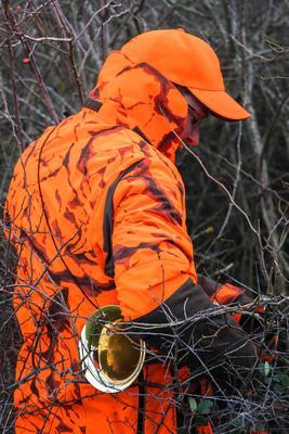 Gorra Solognac Supertrack Adulto Reforzada Naranja Fluo