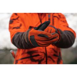 Handschoenen Supertrack 100 V2 voor de jacht oranje