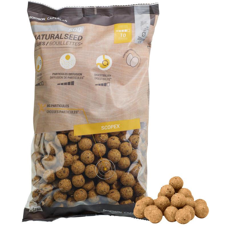 Boilies voor karper Natural Seed 20 mm 2 kg Scopex