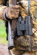 STALK CLOTHING DRY/WET WEATHER Shooting and Hunting - 500 Warm Gloves FURTIV SOLOGNAC - Hunting and Shooting Clothing