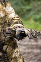 Gants chauds de chasse500