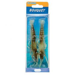 Turlutte bouquet 8cm naturel pêche des seiches/calamars