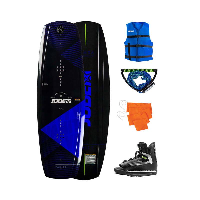 NO_NAME_FOUND Wakeboarding a vodní lyžování - SADA PACK VANITY 141 CM JOBE - Wakeboarding a vodní lyžování