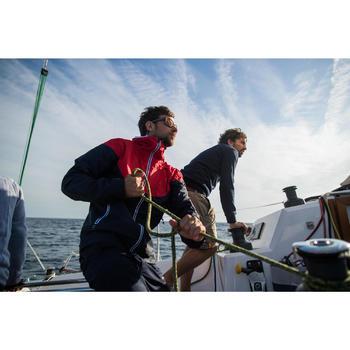 Robuuste herenbermuda voor zeilen Sailing 100 beige