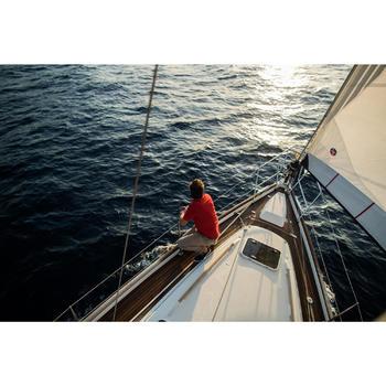 Robuuste zeilbroek Sailing 100 voor heren beige
