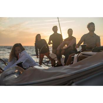 Antislip bootschoenen voor dames Sailing 500 grijs