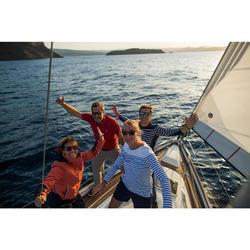 Watersportbril drijvend, polariserend Sailing 100 maat S blauw
