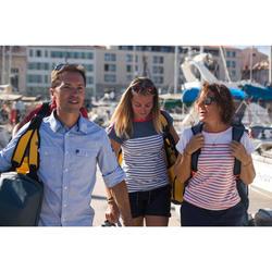 女款耐用航海短褲Sailing 100-軍藍色