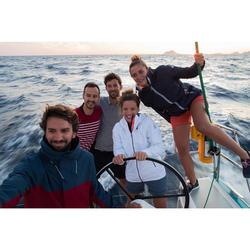 男款航海短袖Polo衫Sailing 100-灰色