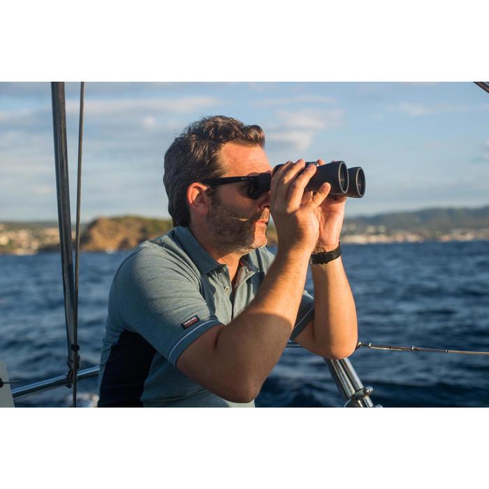 男款航海短袖Polo衫Sailing 100-刷色灰