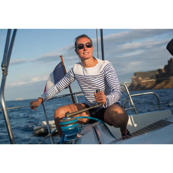 Sailing 100 Women's Rugged Sailing Shorts - Navy