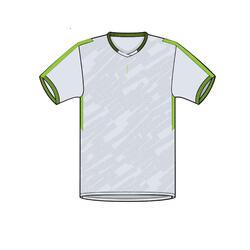 兒童款上衣F520 - 灰綠配色