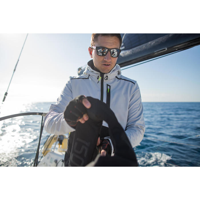 Men's Yacht Racing Softshell - Grey/Black