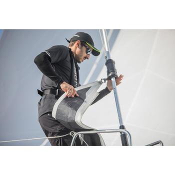 Men's Women's Unisex Sailing Cap Race 500 - Black