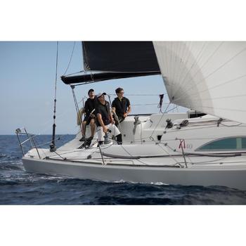 男款航海短褲Sailing 500-淺灰色