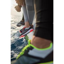Bootschoenen voor wedstrijdzeilen voor dames Race grijs/roze