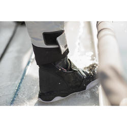 Zeillaarzen voor volwassenen Sailing 900 zwart
