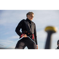 Zeilshort voor dames Race 500 zwart