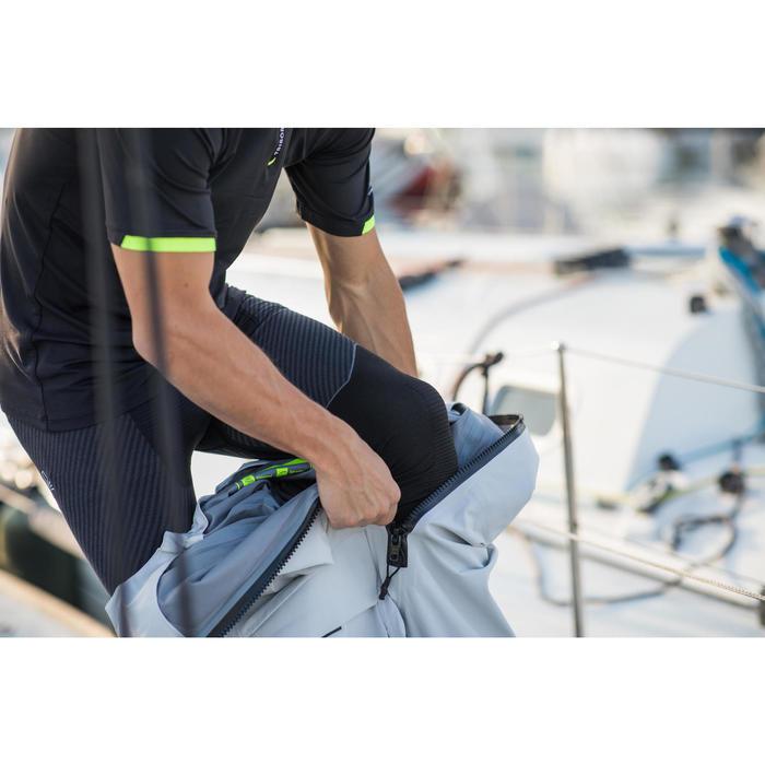 Salopette imperméable de voile régate Race Offshore 900 Gris