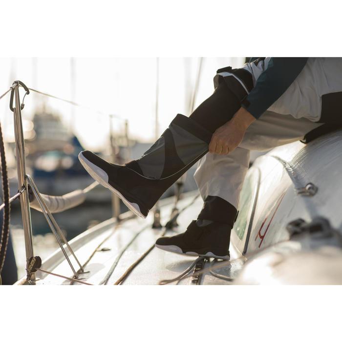 Bottes de régate bateau adultes Race Offshore noir