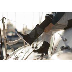 Laarzen voor volwassenen Race Offshore wedstrijdzeilen zwart