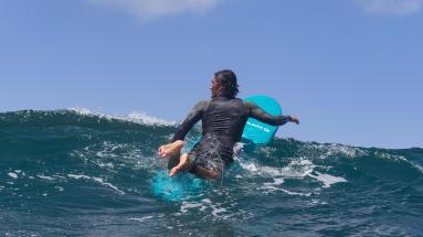 le renforcement des muscles par le surf