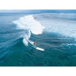 Maillot de bain de surf 1 pièce femme avec double réglage plat ELISE NOIR