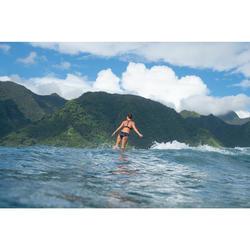 女款衝浪泳褲(附抽繩)VALI-花苞款