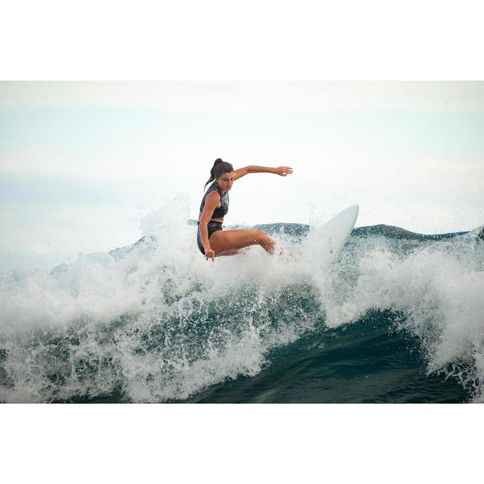 Bikinibroekje voor surfen Rosa Sei hoge taille