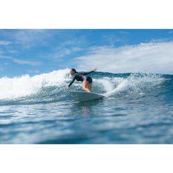 Neopreen vest voor surfen dames 2 mm expert frontrits zwart